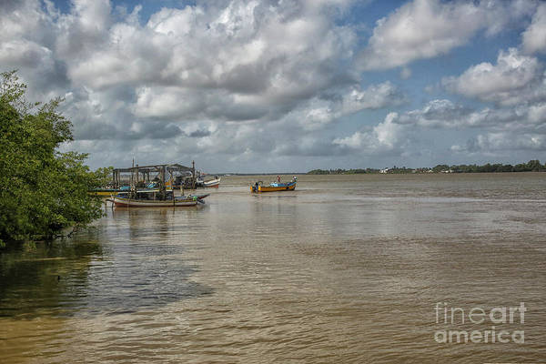 Wall Art - Photograph - Boats On The Suriname River by Patricia Hofmeester