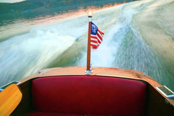 Wake Up Photograph - Boatwake by Randy Miller