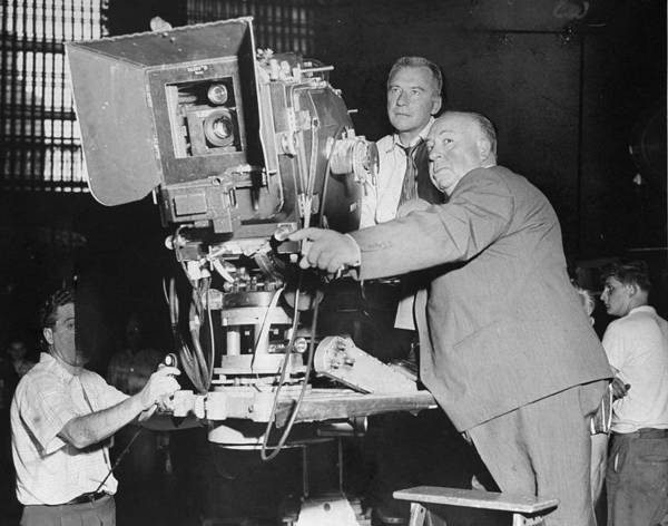 Photograph - Bob Burke And Alfred Hitchcock Right On by New York Daily News Archive