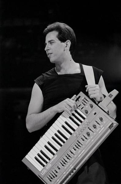 New Wave Music Photograph - Bob Casale Of Devo by Michael Ochs Archives