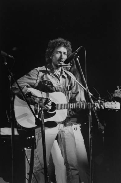 Harmonica Photograph - Bob Dylan by Bill Ray