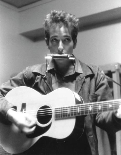 Harmonica Photograph - Bob Dylan Live In Boston by Michael Ochs Archives