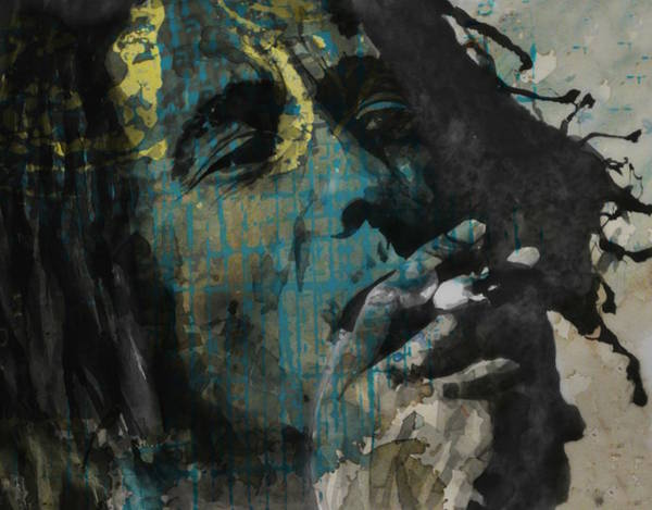 Wall Art - Painting - Bob Marley - Redemption  by Paul Lovering