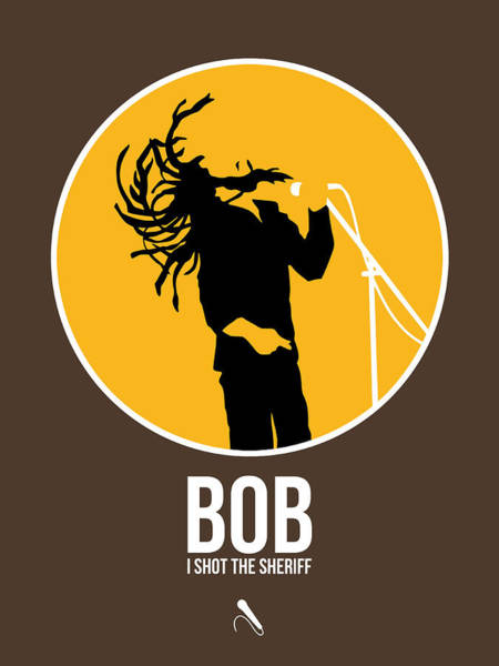Wall Art - Digital Art - Bob Poster by Naxart Studio