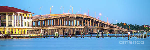 Wall Art - Photograph - Bob Sikes Bridge Pensacola Beach Florida Panorama Photo by Paul Velgos