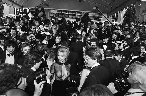 Photograph - Bobbie Bresee Arrives At The Cannes by George Rose
