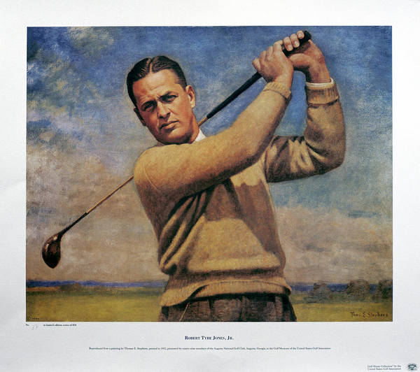 Famous People Photograph - Bobby Jones 1902-72, Three Times Open by Heritage Images