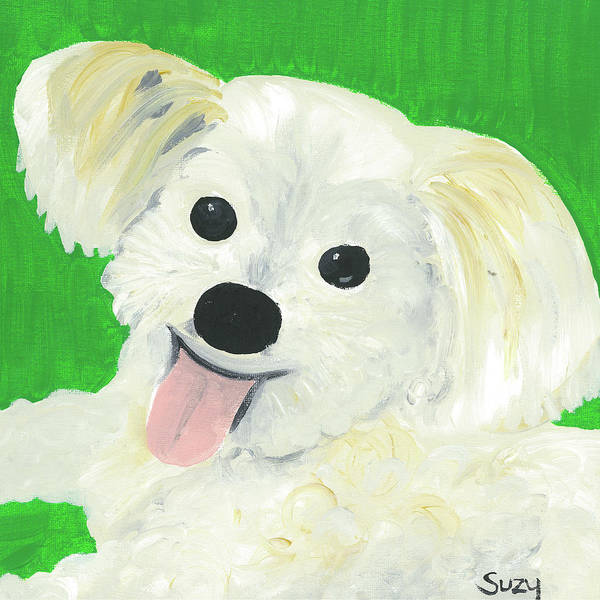 Painting - Bobby by Suzy Mandel-Canter
