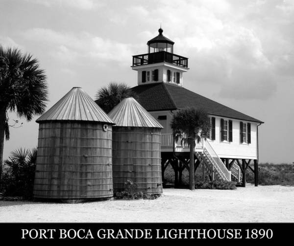 Wall Art - Photograph - Boca Grande Light 1890 by David Lee Thompson