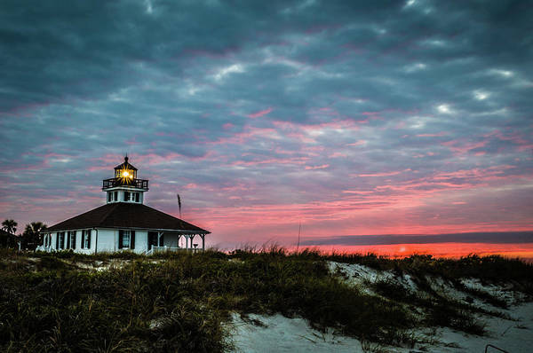 Boca Grande Lighthouse Art Print
