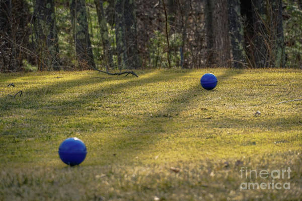 Petanque Wall Art - Photograph - Bocce Balls by Claudia M Photography