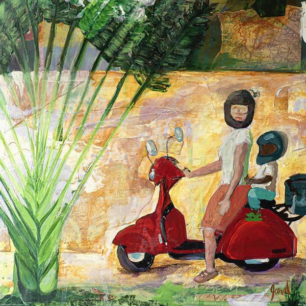 Wall Art - Painting - Boda Boda by Janal Koenig