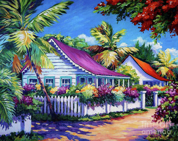 Trinidad Wall Art - Painting - Bodden Town Colours by John Clark