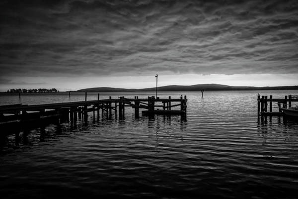 Wall Art - Photograph - Bodgea Bay Black And White by Garry Gay