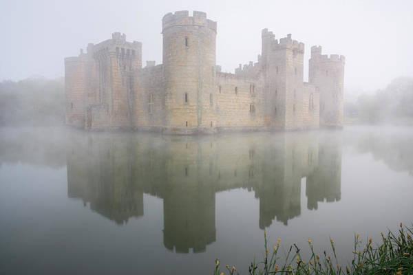 Bodiam Photograph - Bodiam Castle, East Sussex, England by Latitudestock - Peter Lewis