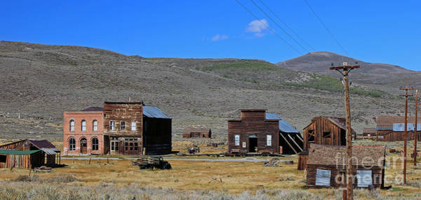 Old Town Wall Art - Photograph - Bodie, Ca by Edd Lange