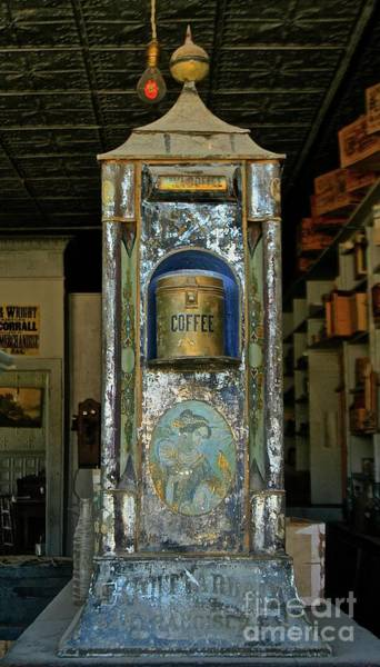Photograph - Bodie Coffee Urn by Suzanne Lorenz