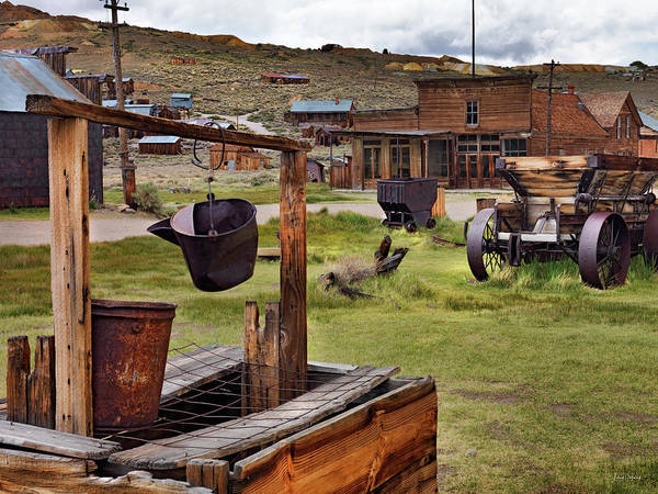 Bodie Ghost Town Wall Art - Photograph - Bodie Ghost Town by Leland D Howard