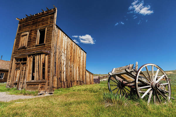 Bodie Ghost Town Wall Art - Photograph - Bodie Ghost Town Swazey Hotel by Dan Carmichael
