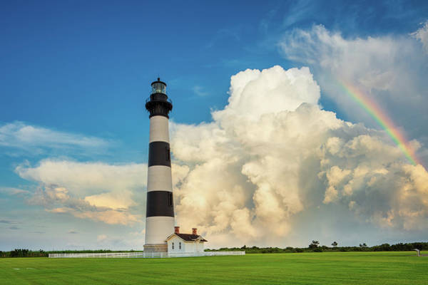 Bodie Photograph - Bodie Island Lighthouse  by Emmanuel Panagiotakis
