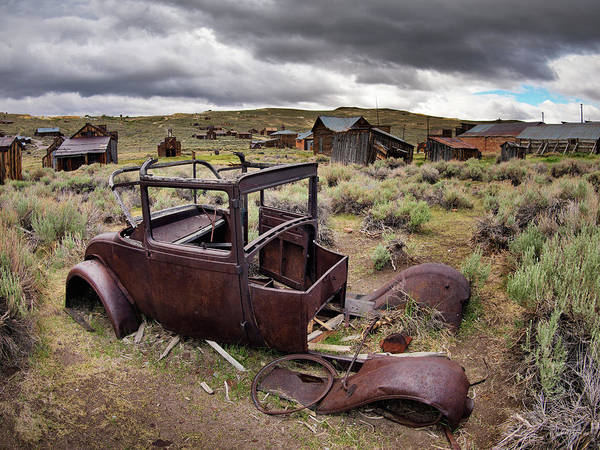 Photograph - Bodie by Leland D Howard