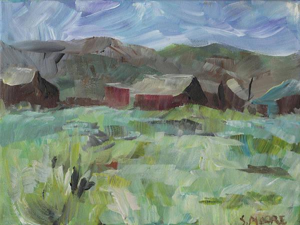 Painting - Bodie by Susan Moore