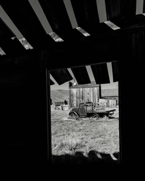 Bodie Photograph - Bodie Truck by Joseph Smith