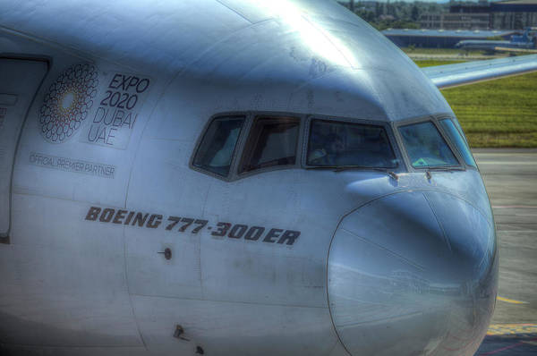 Wall Art - Photograph - Boeing 777-300er by David Pyatt