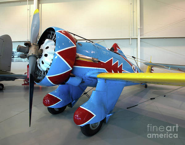 Ju-52 Wall Art - Photograph - Boeing P-26 Peashooter by Greg Hager