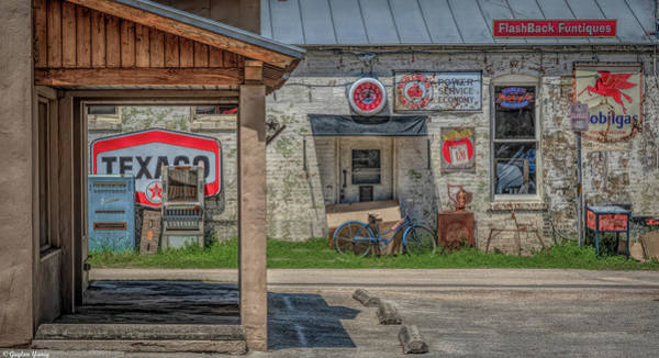 Photograph - Boerne Texas Flashbacks by Gaylon Yancy