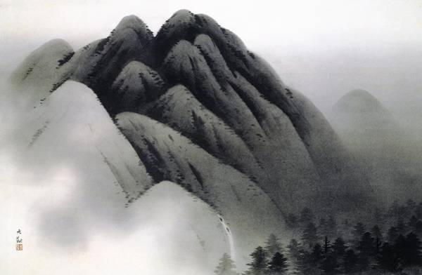 Wall Art - Painting - Bogaku - Top Quality Image Edition by Yokoyama Taikan