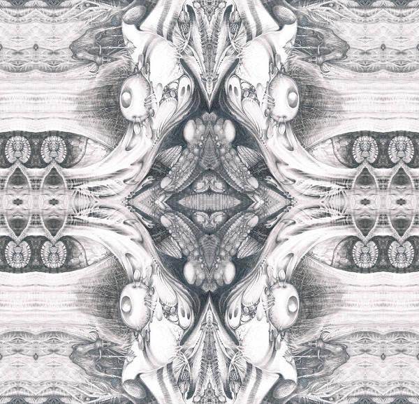 Digital Art - Bogomil Variation 10 by Otto Rapp