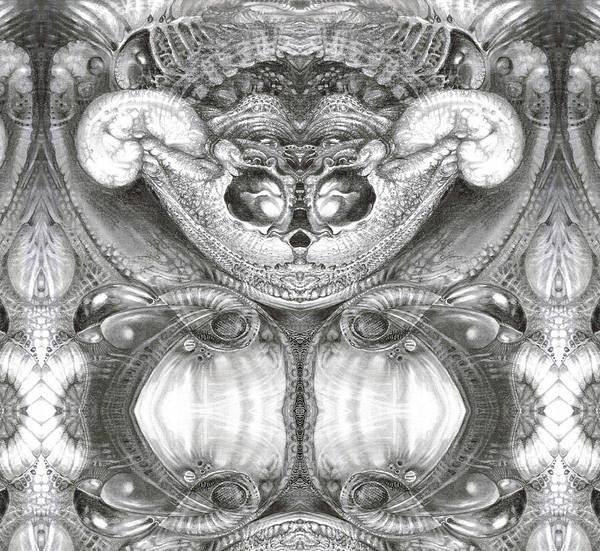 Digital Art - Bogomil Variation 4 by Otto Rapp