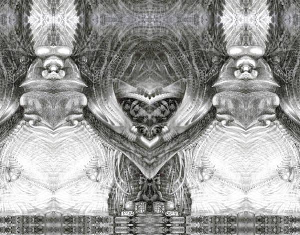 Digital Art - Bogomil Variation 6 by Otto Rapp