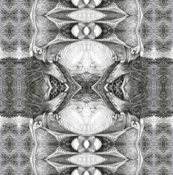 Digital Art - Bogomil Variation 7 by Otto Rapp