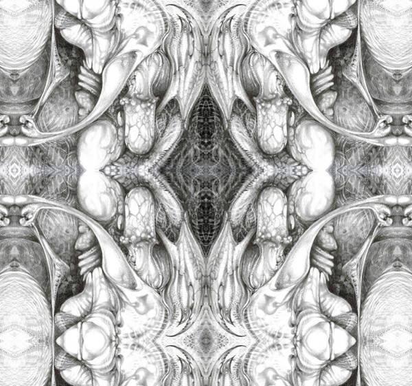Digital Art - Bogomil Variation 8 by Otto Rapp