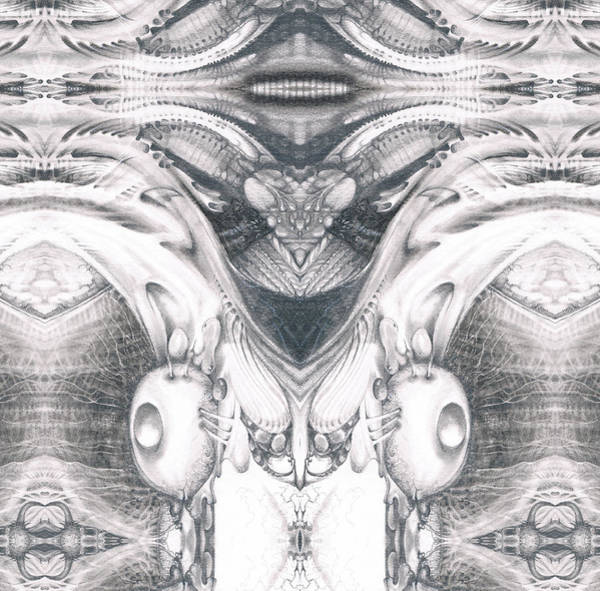 Digital Art - Bogomil Variation 9 by Otto Rapp