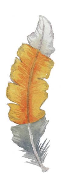 Wall Art - Painting - Bohem Feather I by Elizabeth Medley