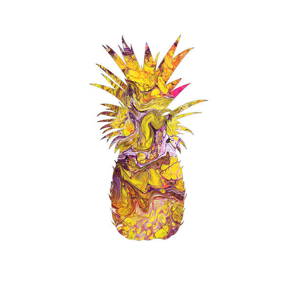 Pineapples Digital Art - Boho Pineapple by Marissa and Jack