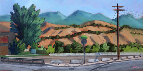 Painting - Boise Foothills by Kevin Hughes