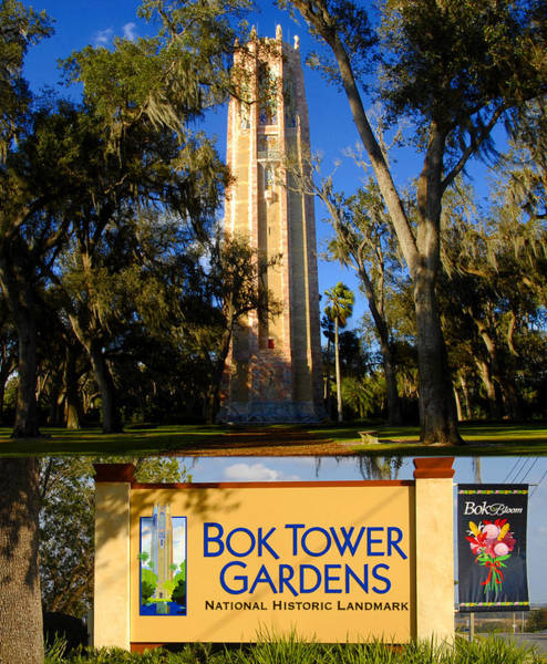 Wall Art - Photograph - Bok Tower Gardens Poster A by David Lee Thompson