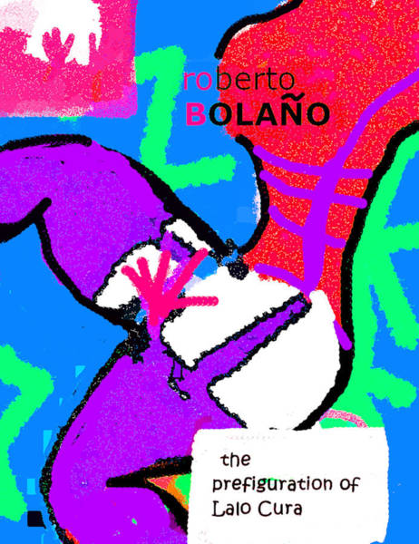 Drawing - Bolano Lalo Cura Poster by Paul Sutcliffe