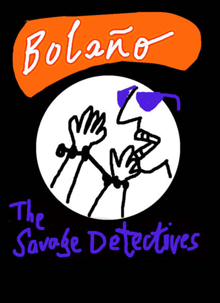 Drawing - Bolano Sd  Poster by Paul Sutcliffe