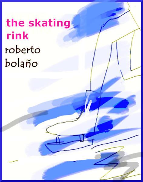 Drawing - Bolano Skating Rink  Poster by Paul Sutcliffe