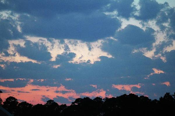 Photograph - Bold And Colorful Clouds by Cynthia Guinn