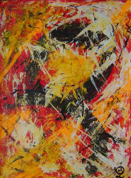 Boldness Painting - Boldness Has No End by Therese Legere