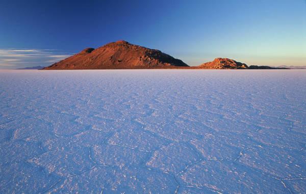 Salar De Atacama Photograph - Bolivia, Atacama Desert, Salar De Uyuni by Philippe Bourseiller