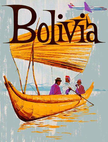 Fishermen Digital Art - Bolivia by Long Shot