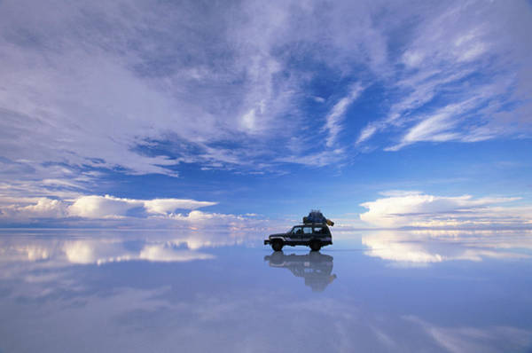 Latin America Photograph - Bolivia, Salar De Uyuni, Expedition by Art Wolfe