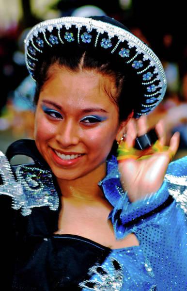Photograph - Bolivian Dancer by Bill Jonscher